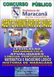 Apostila Impressa Concurso de Maracanã/Pa 2019 – Agente Comunitário De Saúde - ACS