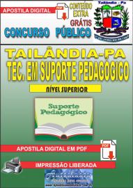 Apostila Digital TAILÂNDIA/PA 2019 - Técnico Em Suporte Pedagógico
