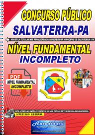 Apostila Digital Concurso Público Prefeitura de Salvaterra - PA 2020 Fundamental Incompleto