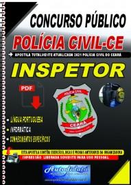 Apostila digital para o Concurso da PC-CE - Inspetor de Polícia Civil e Escrivão de Polícia Civil