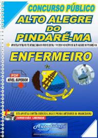 Apostila Digital Concurso Público Alto Alegre do Pindaré - MA 2020 Enfermeiro