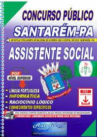 Apostila digital concurso de SANTARÉM-PA 2021 - ASSISTENTE SOCIAL