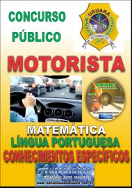 Apostila Impressa Processo Seletivo de URUARÁ/PA 2019 – Motorista
