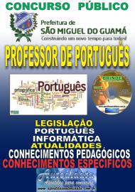 Apostila Impressa SÃO MIGUEL DO GUAMÁ/PA 2019 - Professor De Língua Portuguesa