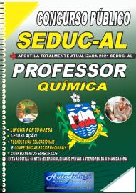 Apostila Impressa Concurso SEDUC - AL 2021 Professor de Química
