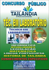 Apostila Impressa TAILÂNDIA/PA 2019 - Técnico De Laboratório