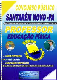 Apostila Impressa Concurso Público Prefeitura de Santarém Novo - PA 2021 Professor de Educação Física