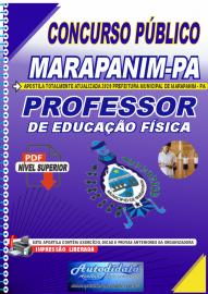 Apostila Digital Concurso Público Prefeitura de Marapanim - PA 2020 Professor de Educação Física