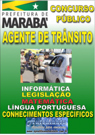 Apostila Digital Concurso MARABÁ - PA 2018 - Agente De Trânsito