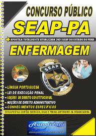 Apostila Impressa Concurso SEAP - PA 2021 Enfermagem