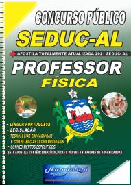 Apostila Impressa Concurso SEDUC - AL 2021 Professor de Física
