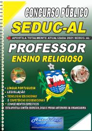 Apostila Impressa Concurso SEDUC - AL 2021 Professor de Ensino Religioso
