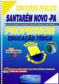 Apostila Digital Concurso Público Prefeitura de Santarém Novo - PA 2021 Professor de Educação Física