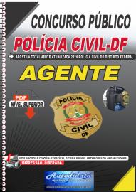 Apostila Digital Concurso Público Polícia Civil - DF 2020 Agente