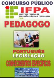 Apostila Impressa Concurso da Ifpa 2018 - PEDAGOGIA