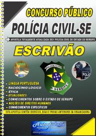 Apostila Impressa Concurso PC-SE 2021 Escrivão