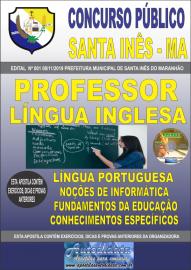Apostila Impressa Concurso Prefeitura Municipal de Santa Inês - Maranhão 2019 Professor Língua Inglesa