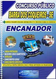 Apostila Impressa Concurso Público Barra dos Coqueiros - SE 2020 Encanador