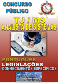 Apostila Digital Concurso do TJ - MS - 2017 - Analista de Sistemas