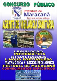 Apostila Impressa Concurso de Maracanã/Pa 2019 – Agente De Vigilância Sanitária