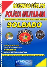 Apostila Impressa Concurso PM-MA 2021 Soldado