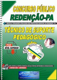 Apostila Digital Concurso Público Prefeitura de Redenção - PA 2020 Técnico de Suporte Pedagógico