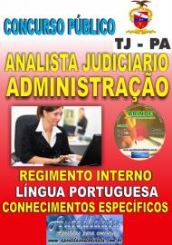 Apostila Impressa concurso de TJPA 2019 – Administração