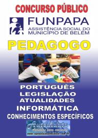 Apostila digital concurso da FUNPAPA-PA 2018 - Pedagogo
