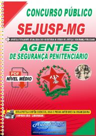 Apostila Digital SEJUSP-MG 2021 Agentes de Segurança Penitenciário