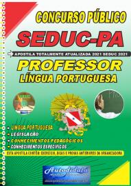Apostila Impressa Concuso Público Seduc-PA 2021 Professor de Língua Portuguesa