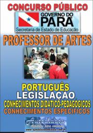 Apostila Digital Concurso SEDUC-PA 2018 - Professor de Artes