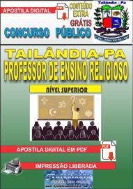 Apostila Digital TAILÂNDIA/PA 2019 - Professor De Ensino Religioso