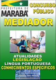 Apostila Impressa Concurso MARABÁ - PA 2018 - Profissional De Apoio Escolar – Mediador