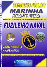 Apostila Impressa Concurso Marinha do Brasil - 2021 Fuzileiro Naval