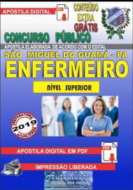Apostila Digital concurso SÃO MIGUEL DO GUAMÁ/PA 2019 – Enfermeiro