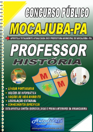 Apostila Impressa Concurso Público Prefeitura de Mocajuba - PA 2021 Professor de Historia