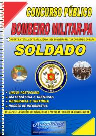 Apostila Impressa Concurso CORPO DE BOMBEIROS-PA - CBM-PA 2021 Soldado