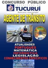 Apostila Impressa Concurso TUCURUÍ - PA 2019 - Agente Municipal de Trânsito