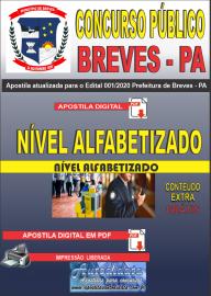 Apostila Digital Concurso Público Prefeitura de Breves - PA 2020 Nível Alfabetizado
