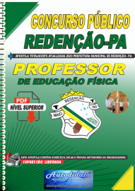 Apostila Digital Concurso Público Prefeitura de Redenção - PA 2020 Professor de Educação Física