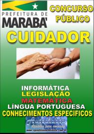 Apostila Impressa Concurso MARABÁ - PA 2018 - Cuidador