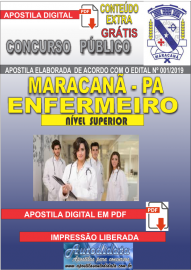 Apostila Digital Concurso de Maracanã/Pa 2019 – Enfermeiro