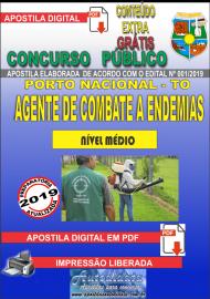 Apostila Digital Concurso da Prefeitura de Porto Nacional - TO – 2019 - Agente De Combate A Endemias