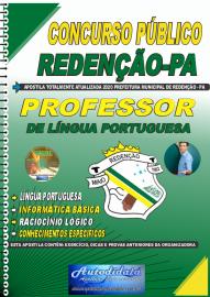 Apostila Impressa Concurso Público Prefeitura de Redenção - PA - 2020 Professor de Língua Portuguesa