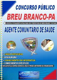 Apostila Impressa Concuso Breu Branco-PA 2021 Agente Comunitário de Saúde