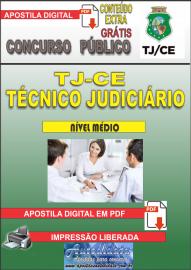 Apostila Digital TJ-CE 2019 - Técnico Judiciário/Área Judiciária