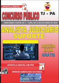 Apostila Digital Concurso TJ-PA 2019 - Analista Judiciário Suporte