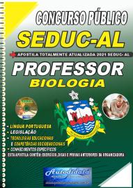 Apostila Impressa Concurso SEDUC - AL 2021 Professor de Biologia