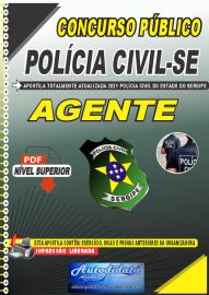 Apostila Digital Concurso PC-SE 2021 Agente de Polícia