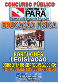 Apostila Digital Concurso SEDUC-PA 2018 - Professor de Educação Física